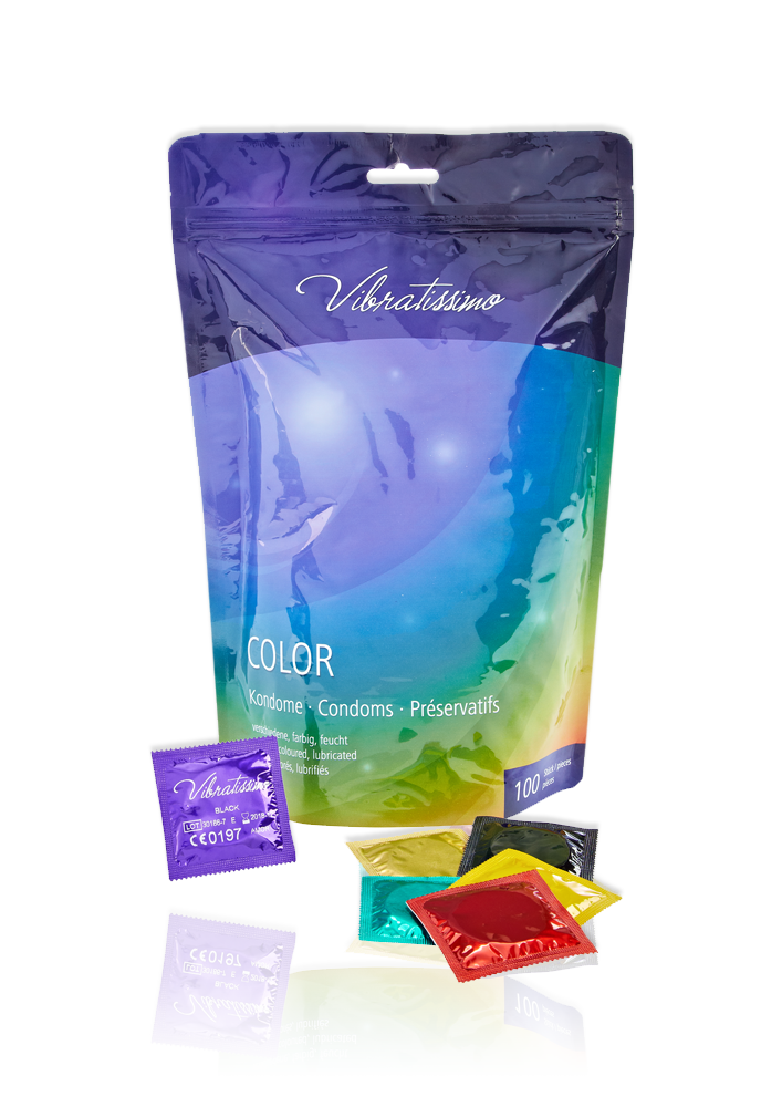Vibratissimo Color 100er pack